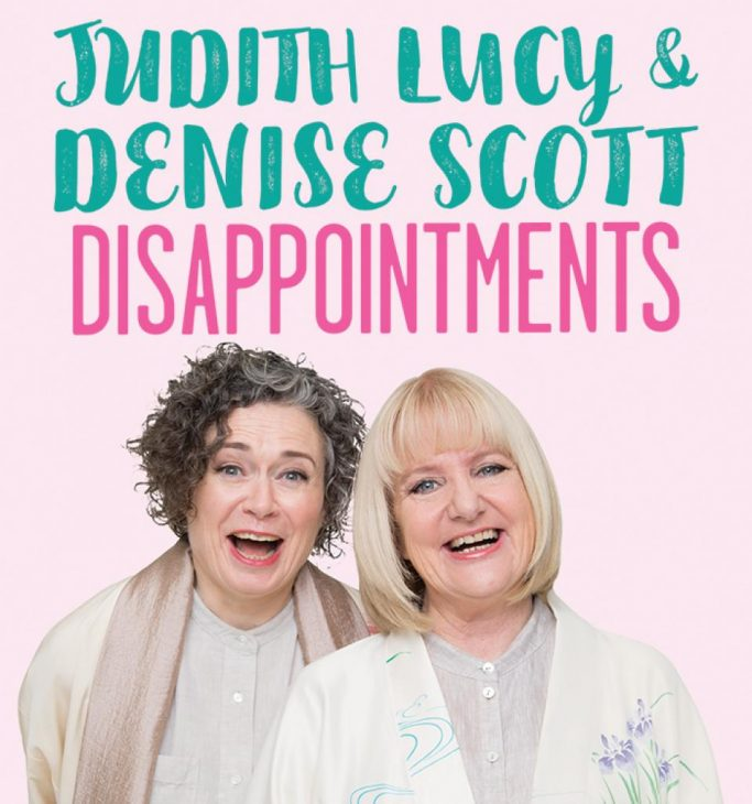 Judith Lucy Denise Scott Disappointments Comedycomau